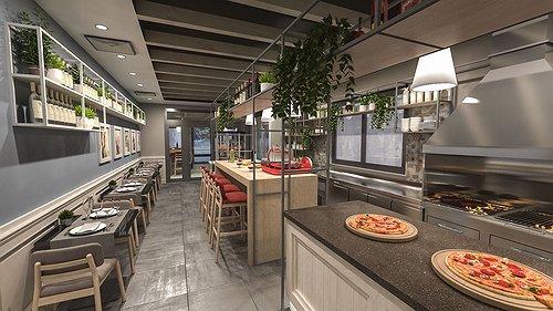 Progetto ristorante coloniale