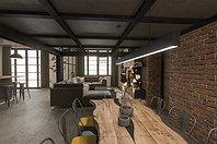 Progetto Casa in Stile Industriale