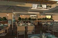 Progetto ristorante all'aperto