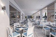 Dehor ristorante al mare
