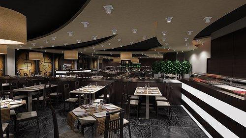 Design Risto Sushi Wok