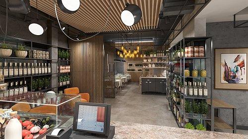 Progetto ristorante Civico 6