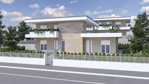 Progetto Residenza al lago di Garda