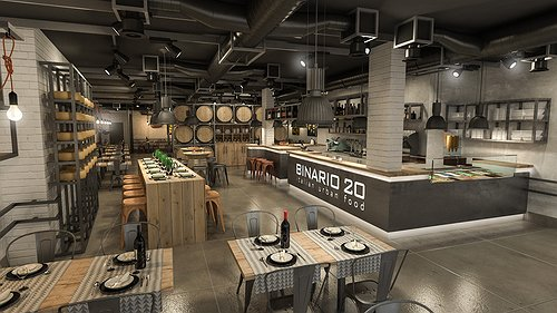 Design Urban Restaurant