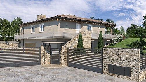 Progetto Nuova Villa Ecosostenibile