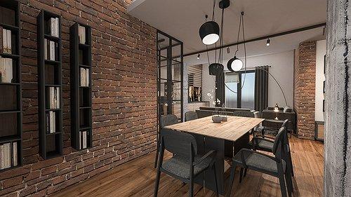 Appartamento Industrial