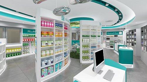 Progetto Farmacia a Pavia