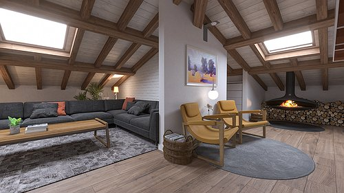 Progetto Loft in Soffitta